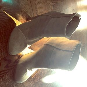Rag & Bone tan booties 6.5
